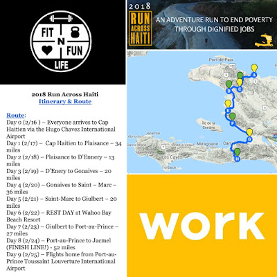 2018 Run Across Haiti with WORK formerly Team Tassy