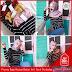 RRC033B60 Baju Comby Cewe Atasan Rajut Stradiv Comby BMGShop