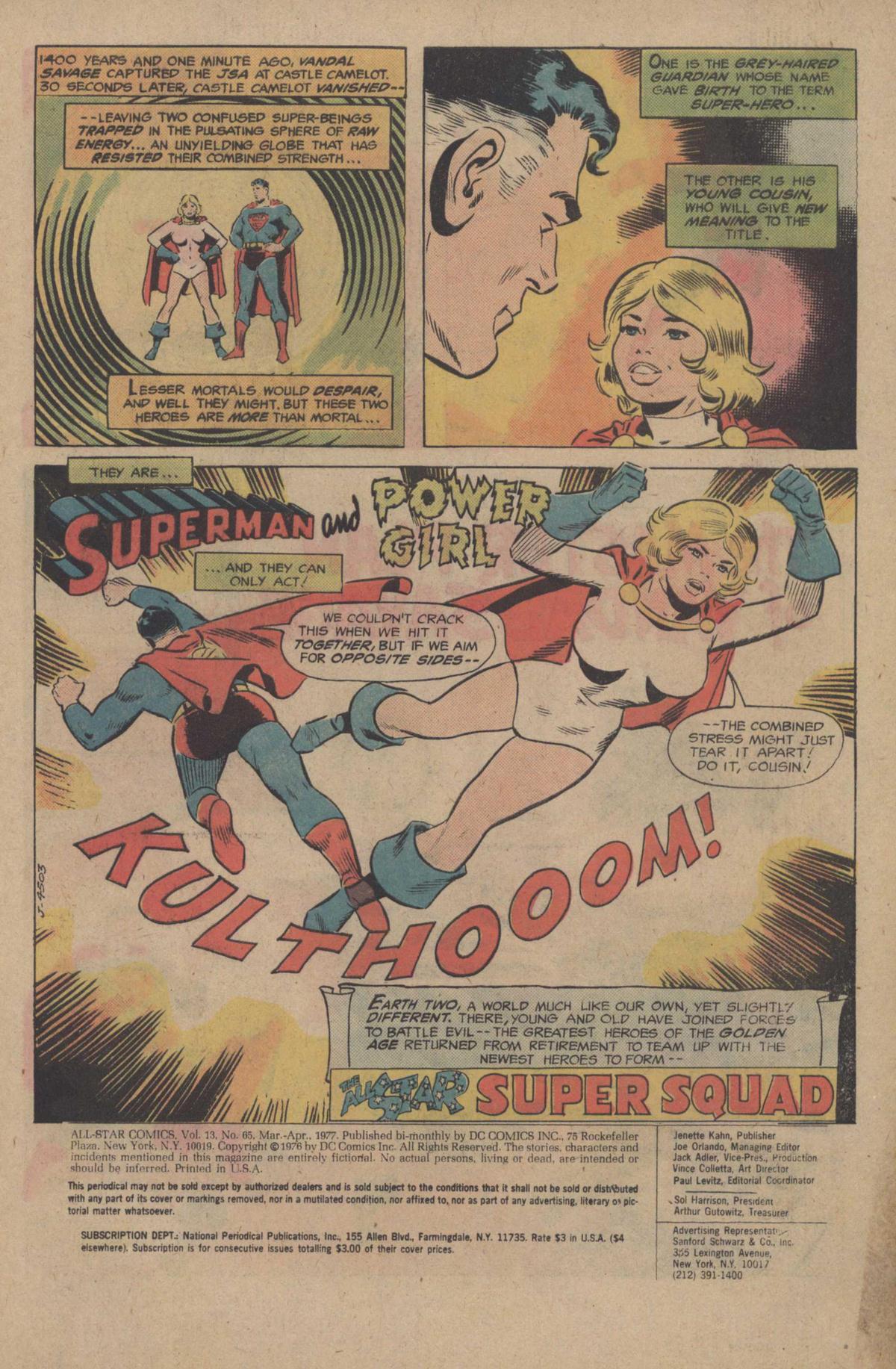 Read online All-Star Comics comic -  Issue #65 - 3