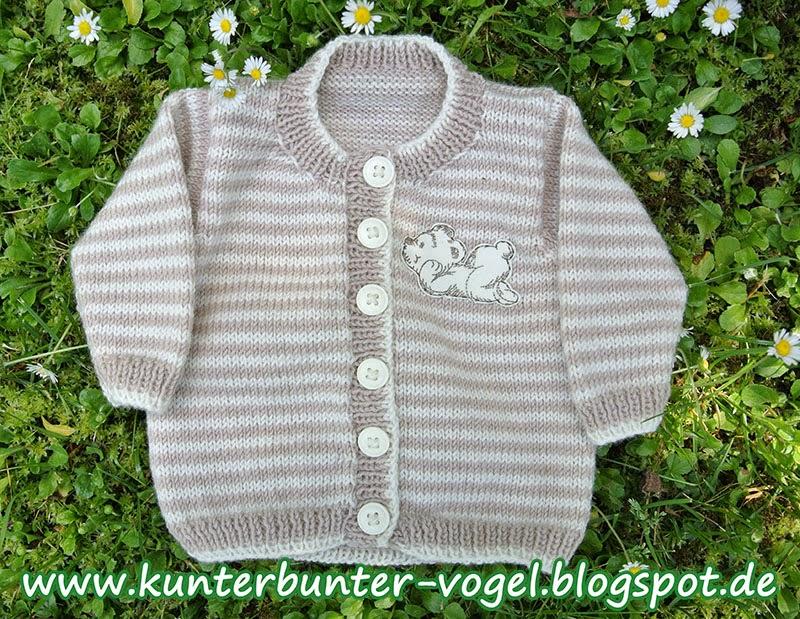 http://kunterbunter-vogel.blogspot.de/2014/05/teddybar-babyjacke-in-beige.html