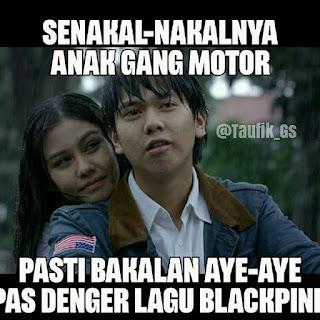 Meme lucu Dilan