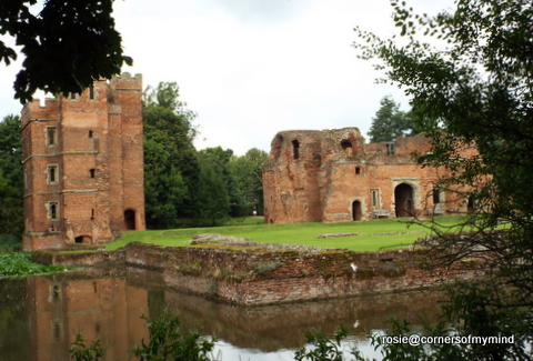 i had visited the castle many years ago in the 1980s and remembered it being surrounded by water but had forgotten it was built of brick and also that it