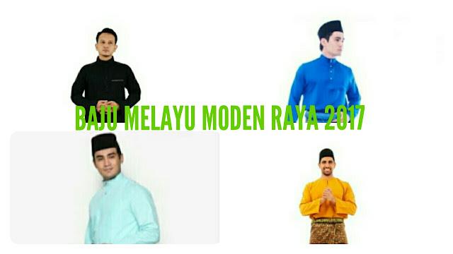 Koleksi Baju Melayu Moden Hari Raya 2017
