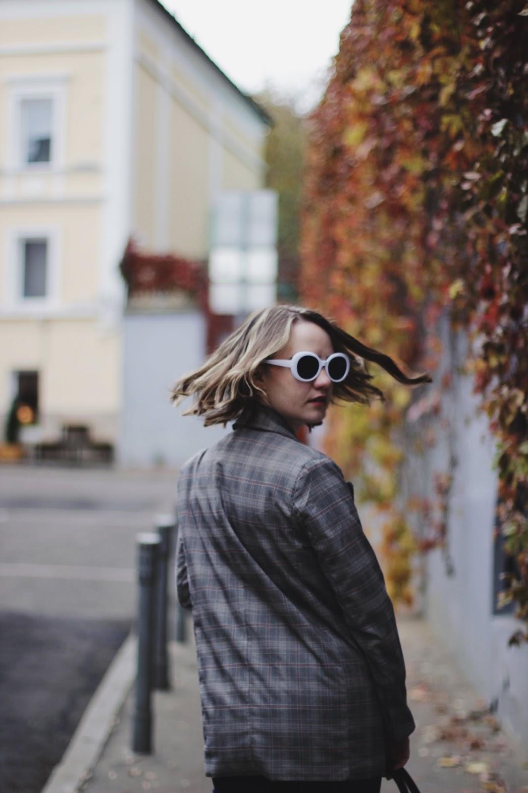Alina Ermilova | Checked Blazer
