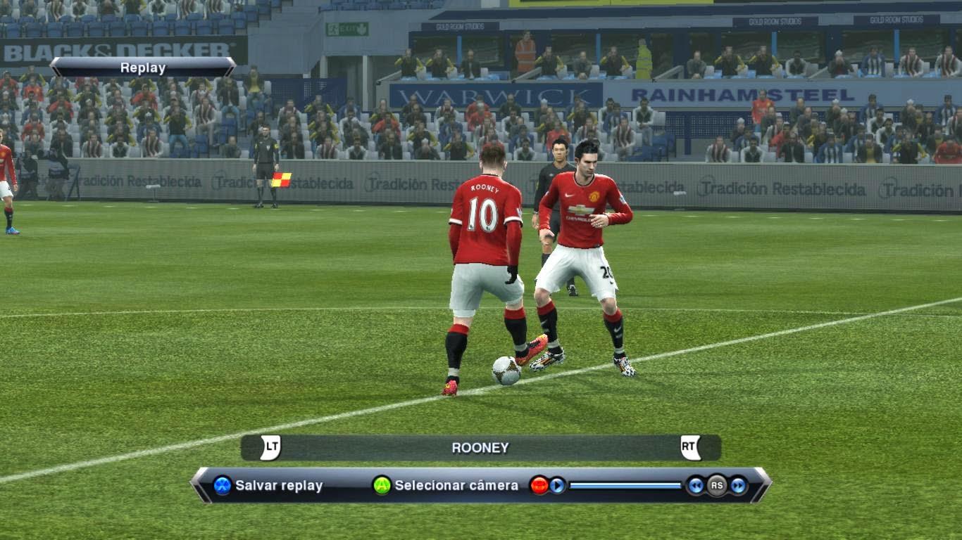 Uniformes Manchester United 2014-2015 [PES 2013]