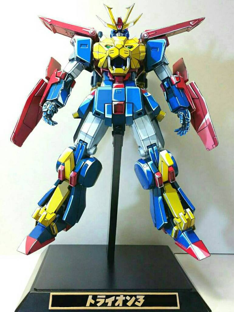 custom build hgbf 1 144 gundam tryon iii