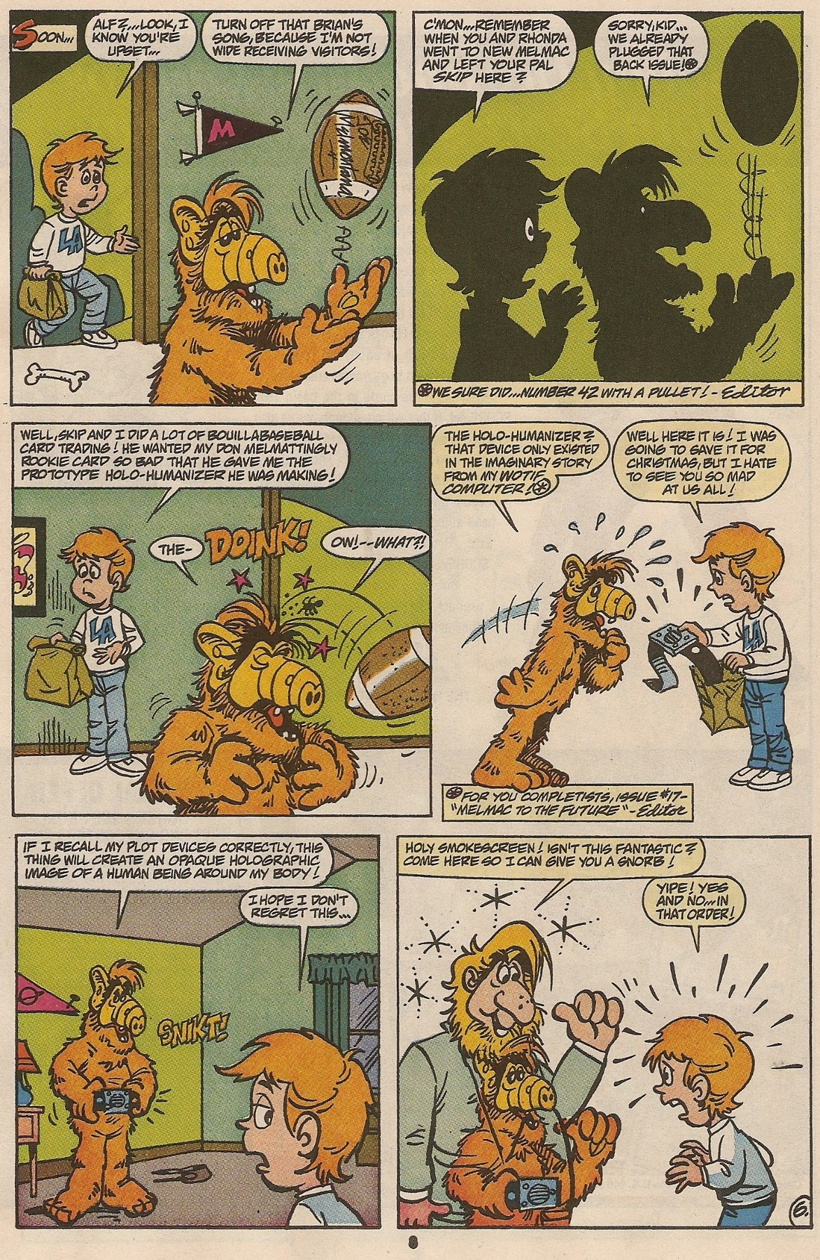 Read online ALF comic -  Issue #47 - 10