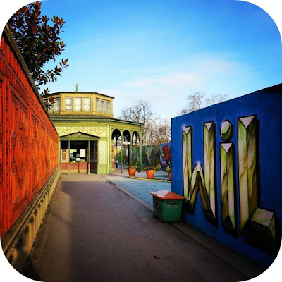 Christmas in Stuttgart: Wilhelma Zoo