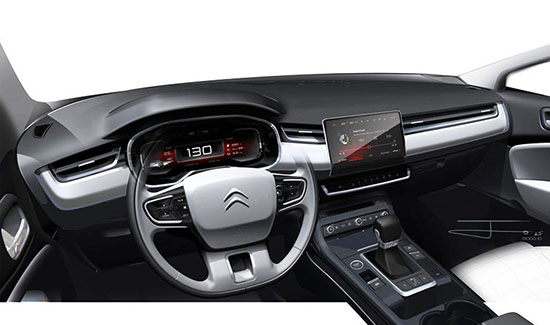 burlappcar updated citroen c5 ing soon Citroen C5 Radio these are official teasers of the revised citroen c5 there will be a new front end rear design and an all new interior