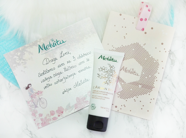 New In #23 Melvita L'Argan Bio Velvet Hand Cream