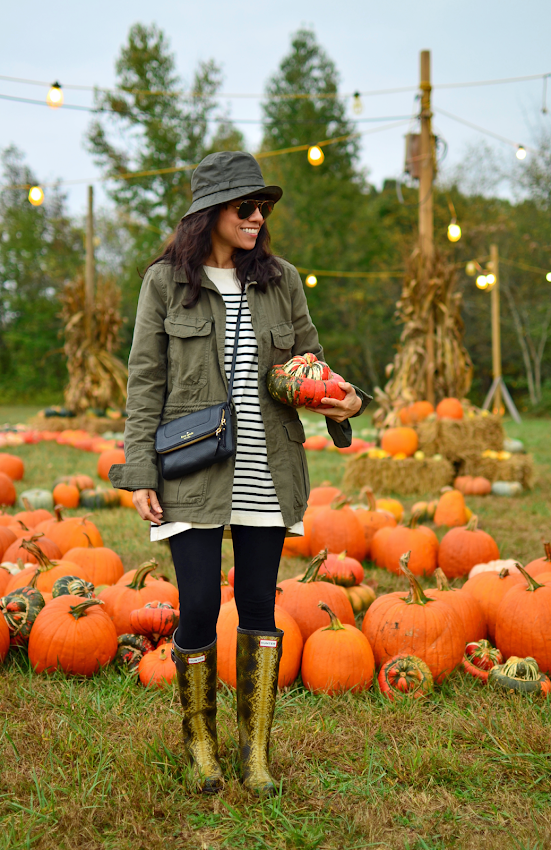 What to wear to the pumpkin patch