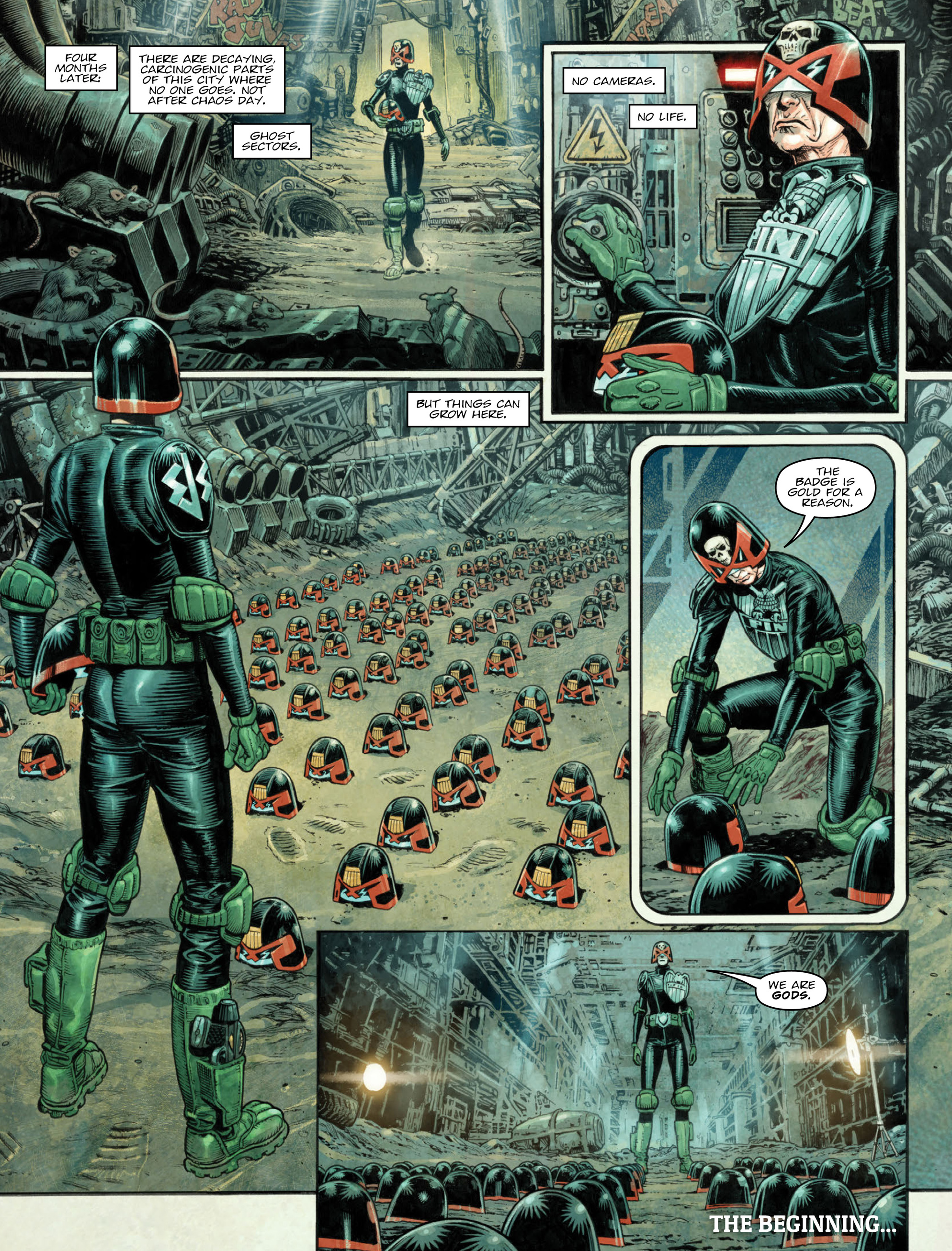 Read online 2000 AD comic -  Issue #2036 - 8
