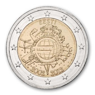 Viro 2 euroa 2012