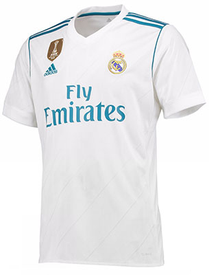 camiseta Real Madrid 2017-2018