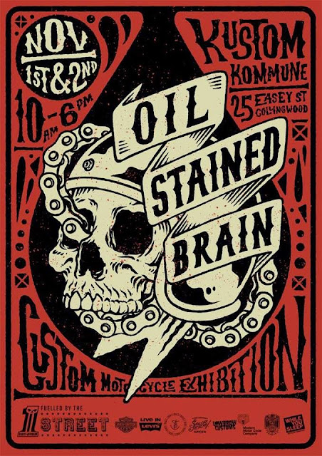 Oil Stained Brain