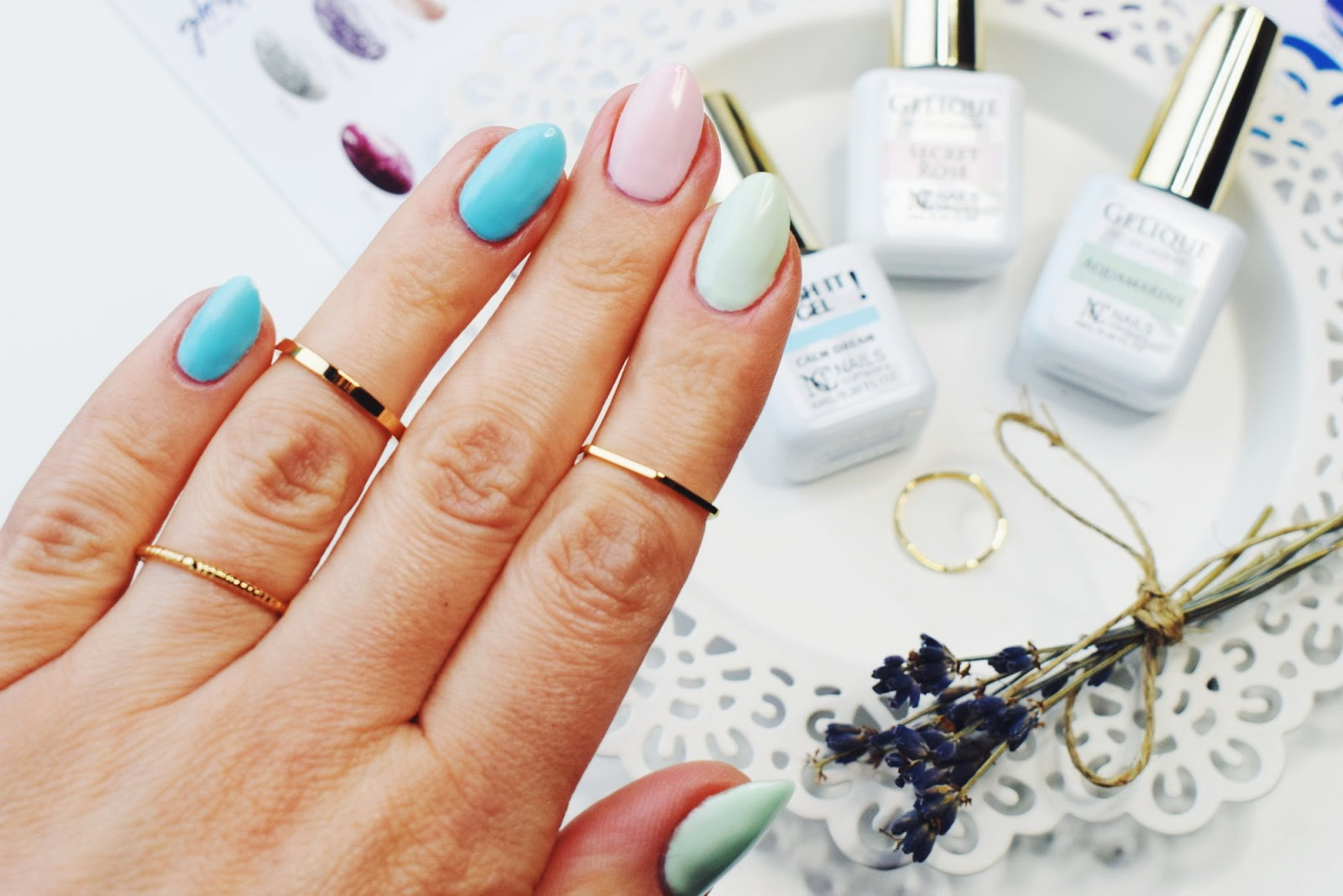 Pastelowe lakiery NC Nails Company