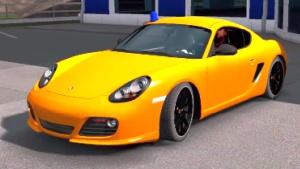 Porsche Cayman car mod