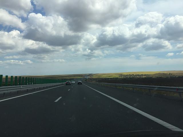 Drumul pe A2 spre mare