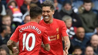 Liverpool Menang 1-0 di Kandang West Bromwich Albion
