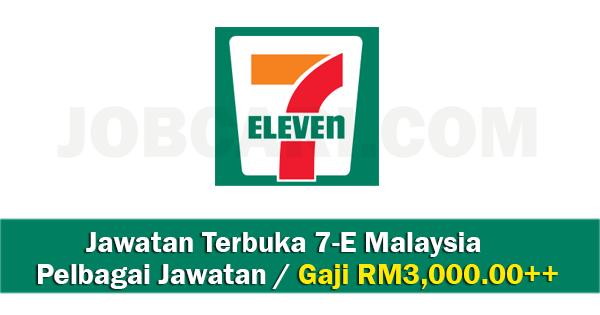 Jawatan Kosong di 7-Eleven Malaysia