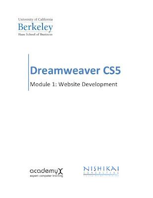 Dreamweaver CS5 Website Development Handout in PDF Download eBook