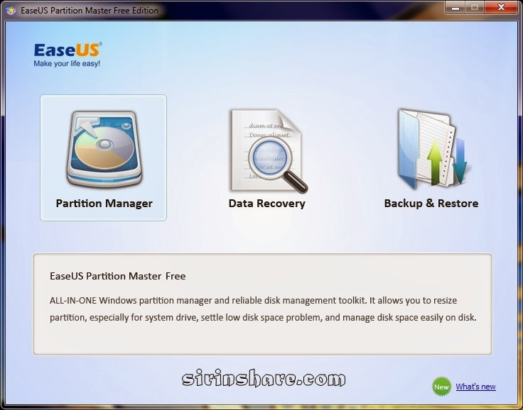 easeus partition master 9.2.2