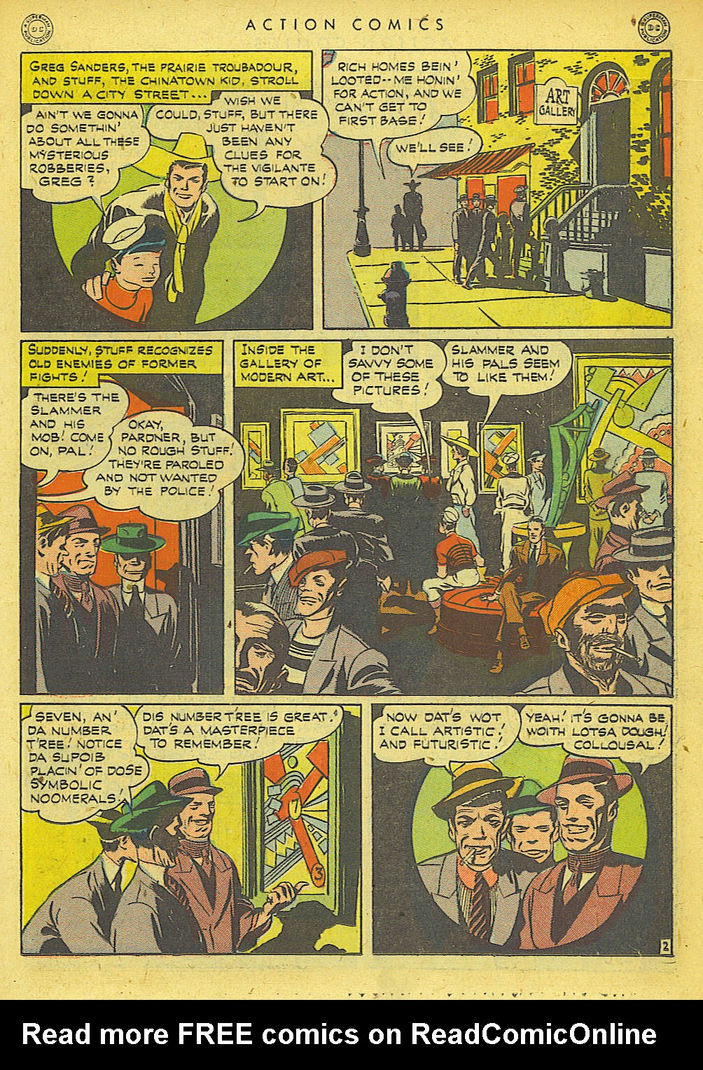 Read online Action Comics (1938) comic -  Issue #78 - 20