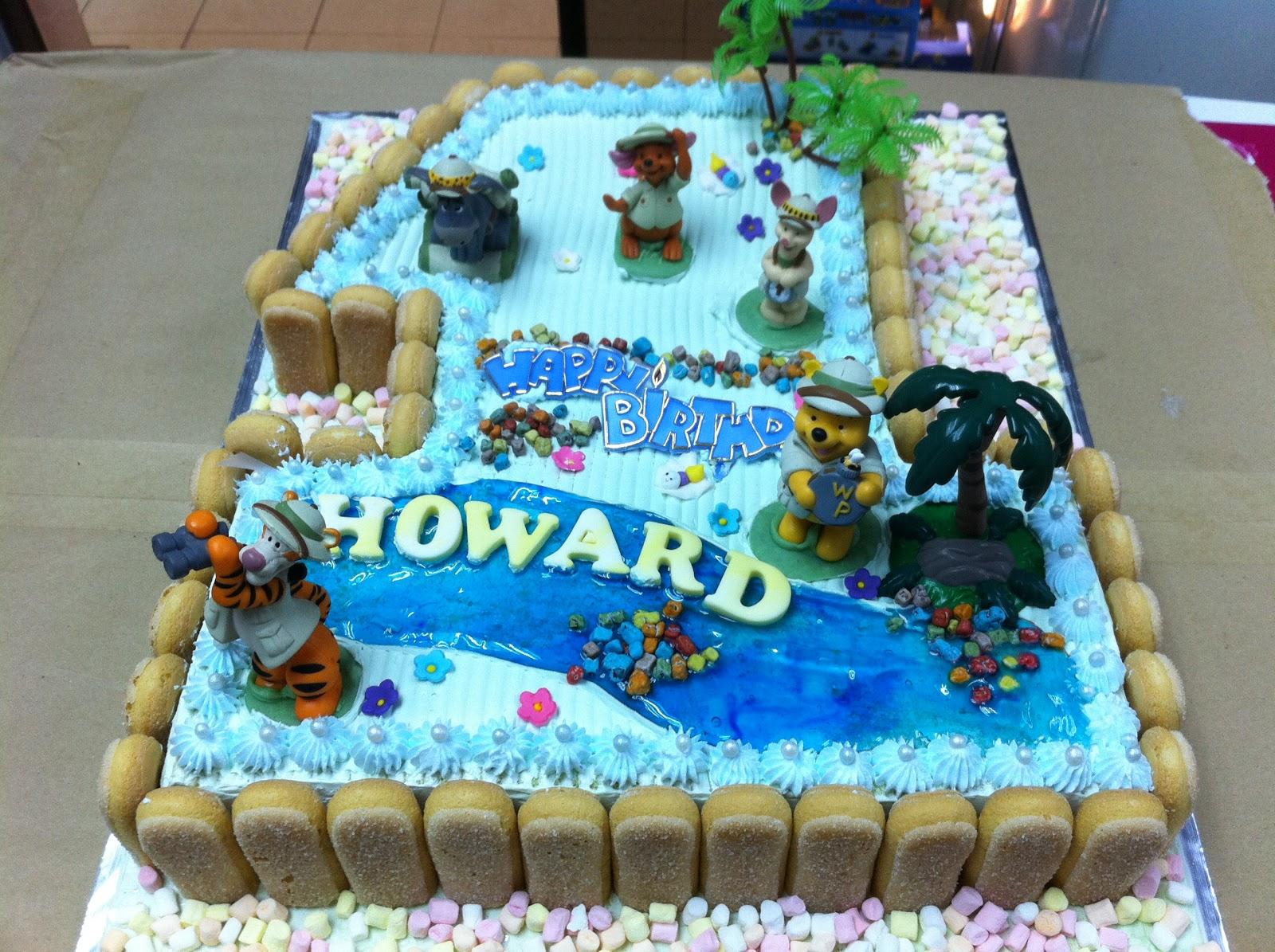 Haven Bakery Howard S Safari Pooh Birthday Cake