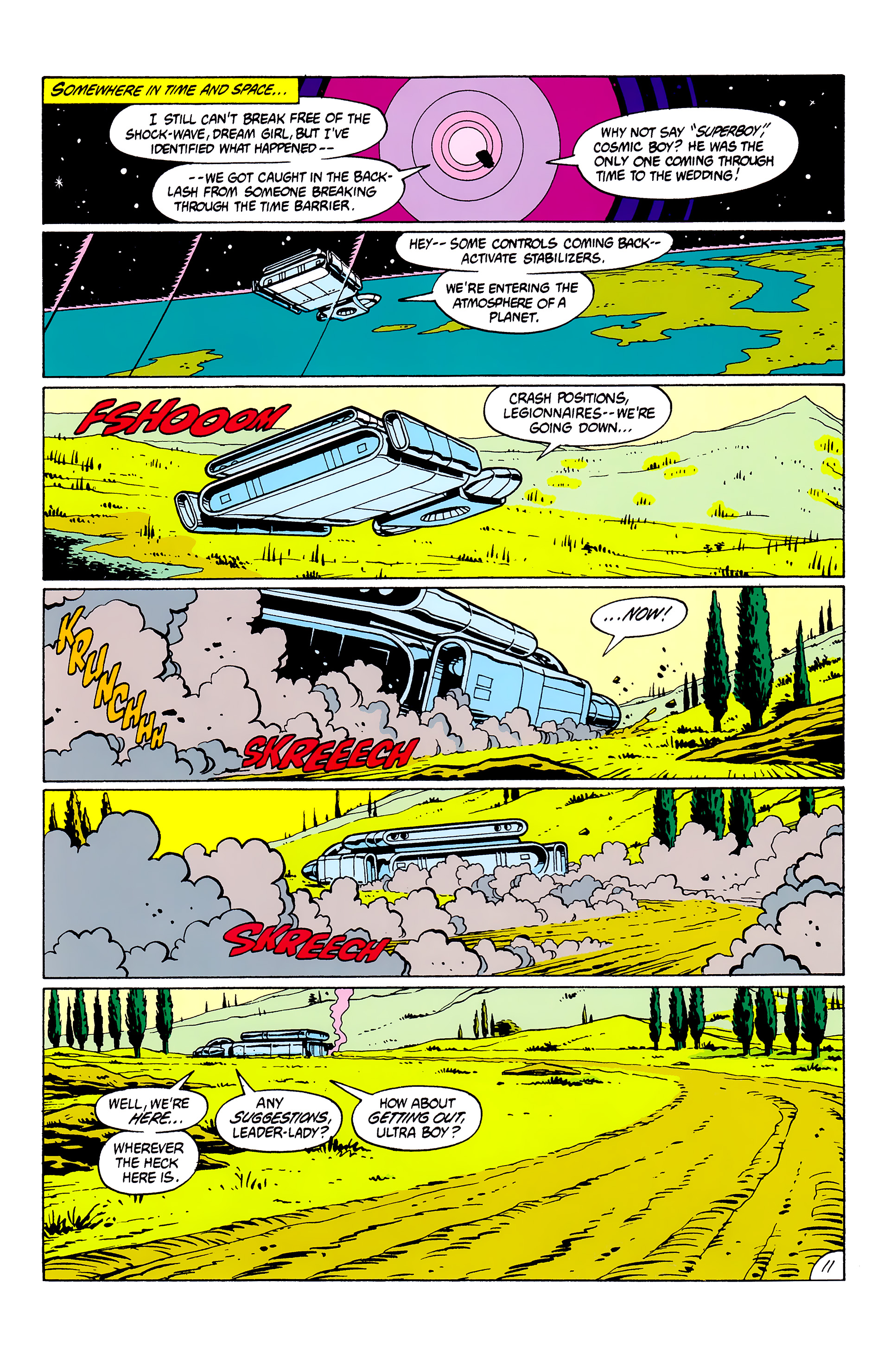 Legion of Super-Heroes (1980) _Annual_2 Page 11