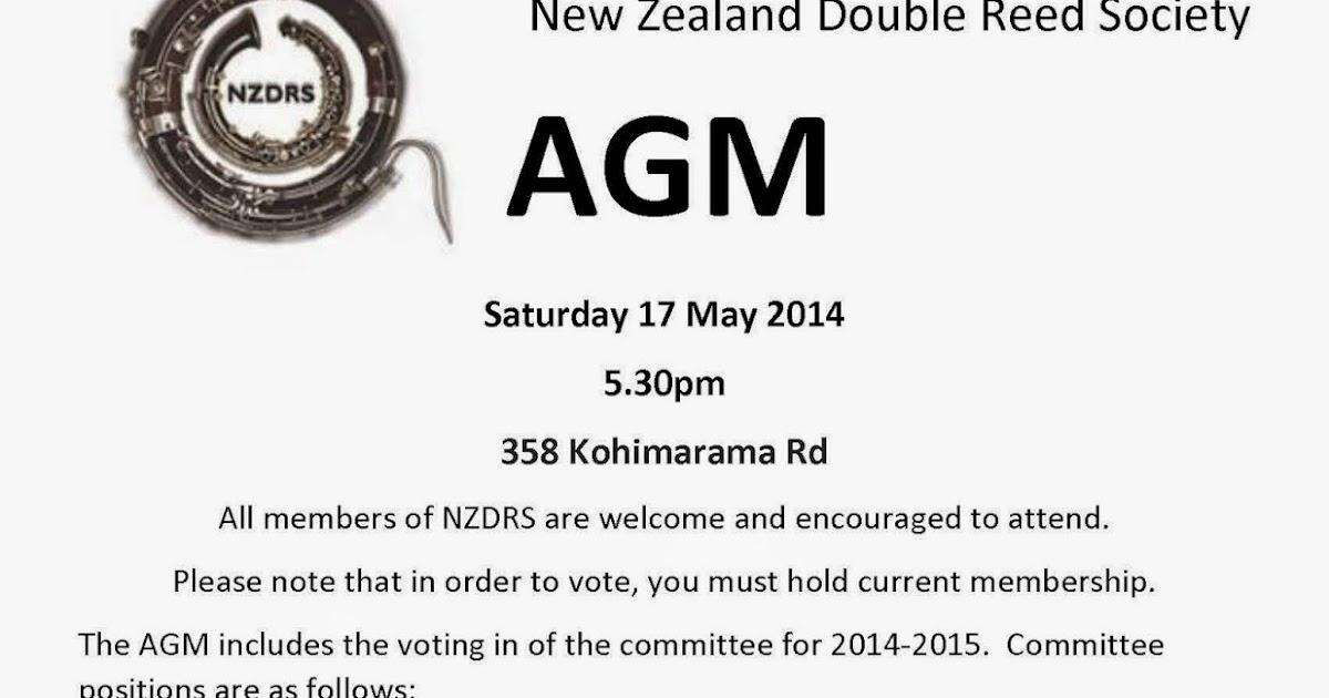 New Zealand Double Reed Society
