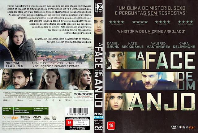 Capa DVD A Face De Um Anjo
