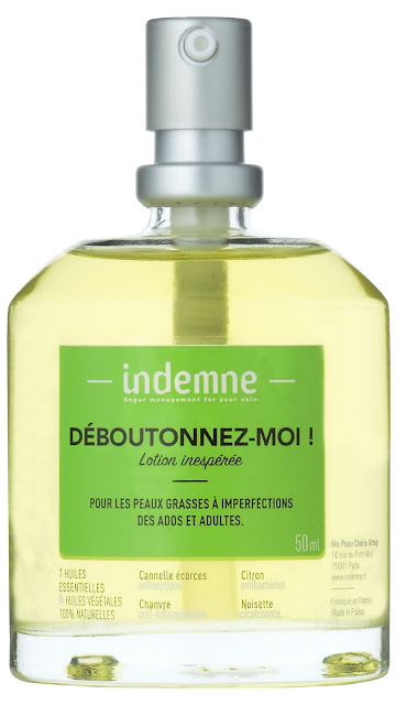 lotion peau indemne