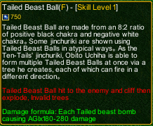 naruto castle defense 6.3 Tailed Beast Ball detail