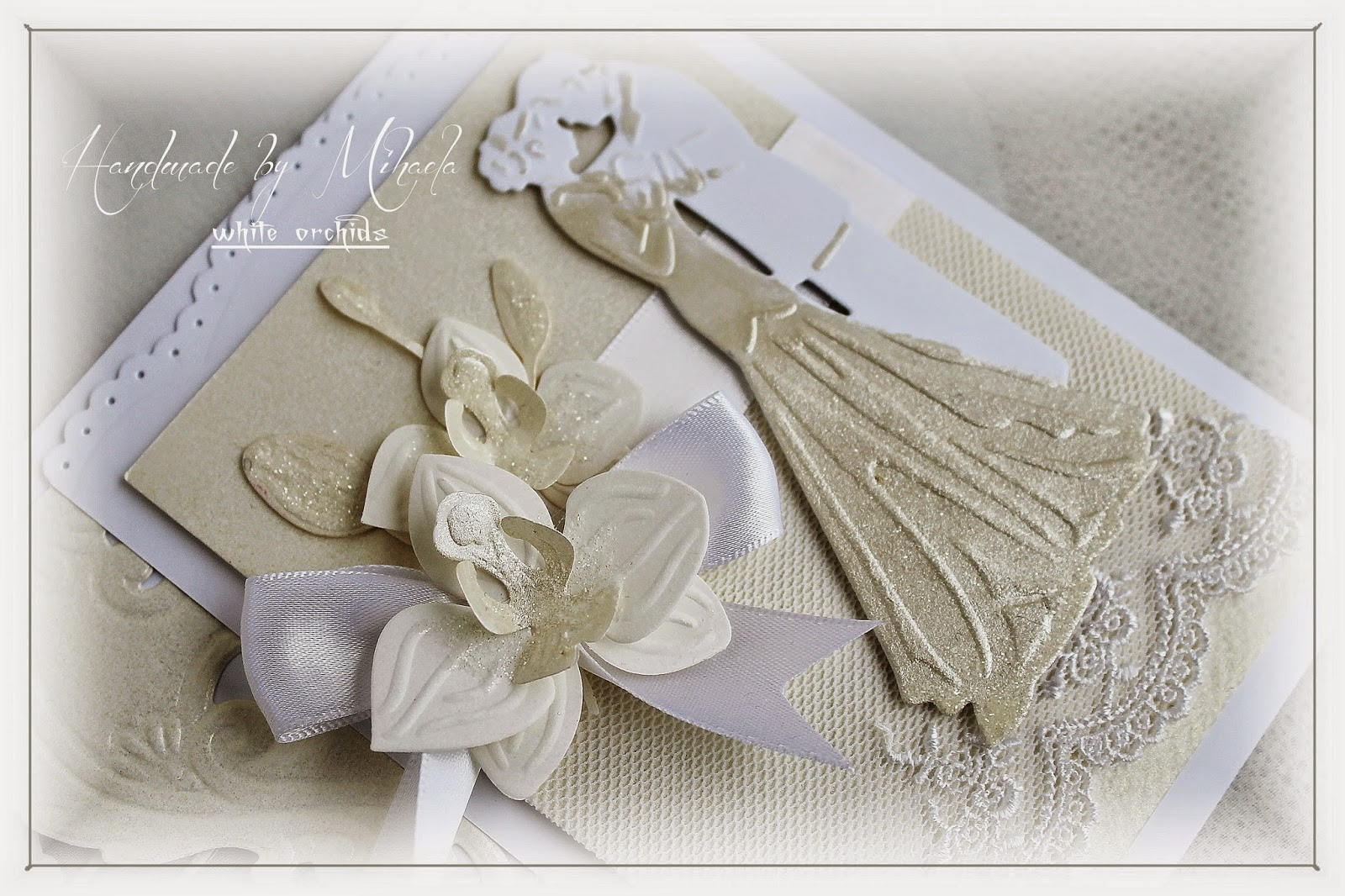 handmademihaela wedding card