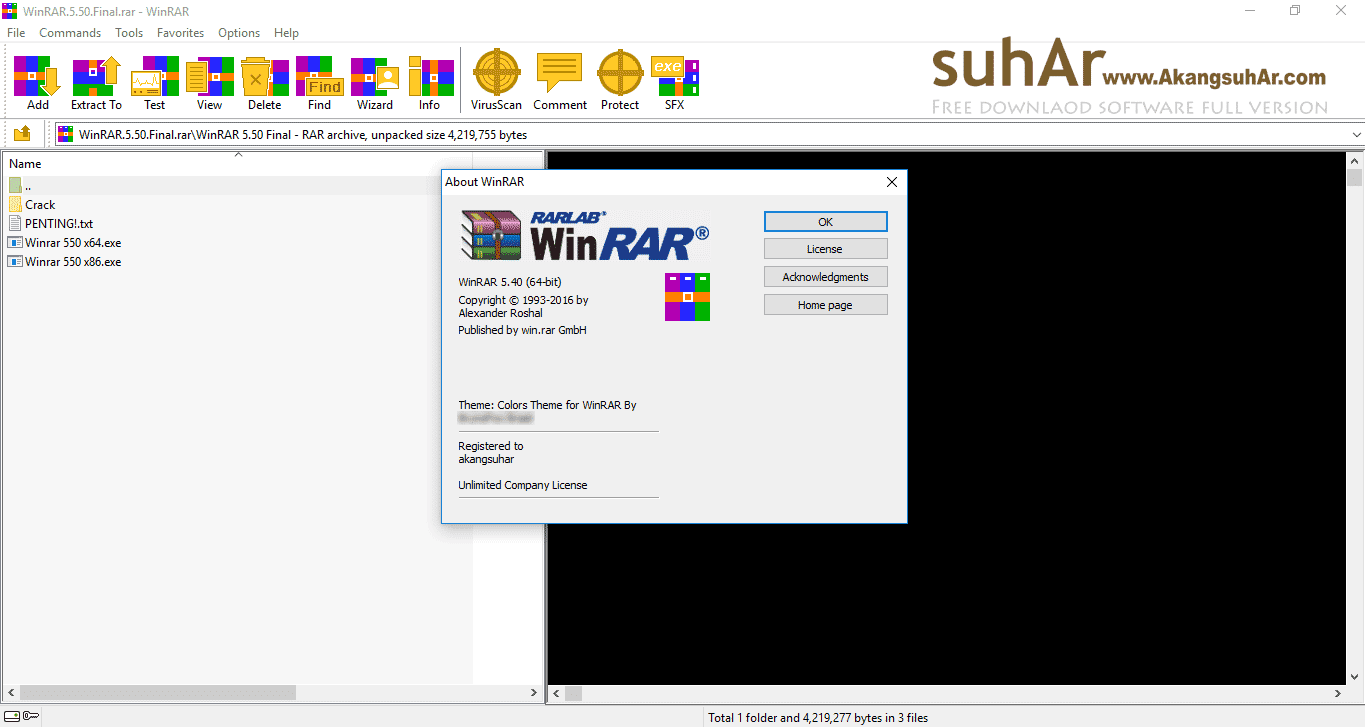 Download Winrar Latest Version, Winrar Final Plus Registration Code