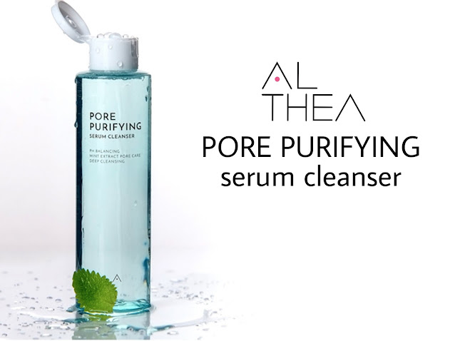 Review Althea Pore Purifying Serum Cleaner