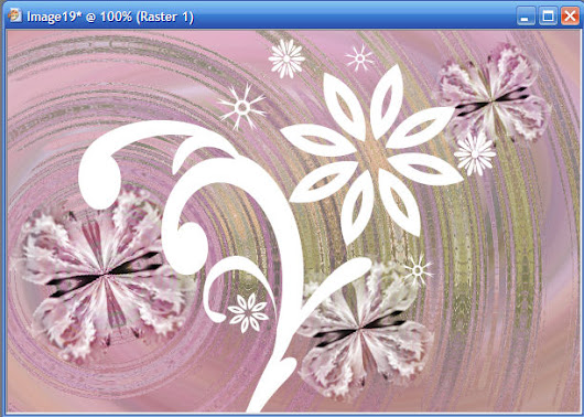 Create Your Own Graphics - Butterflies & Flowers Tutorial Part 5