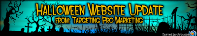 Halloween Web Design Help - Targeting Pro Marketing
