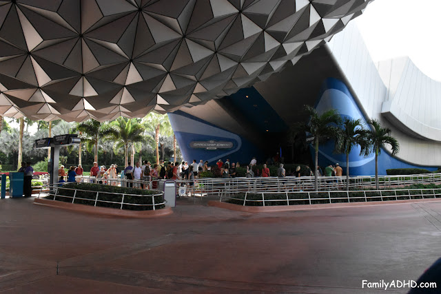 Walt Disney World Epcot Spaceship Earth