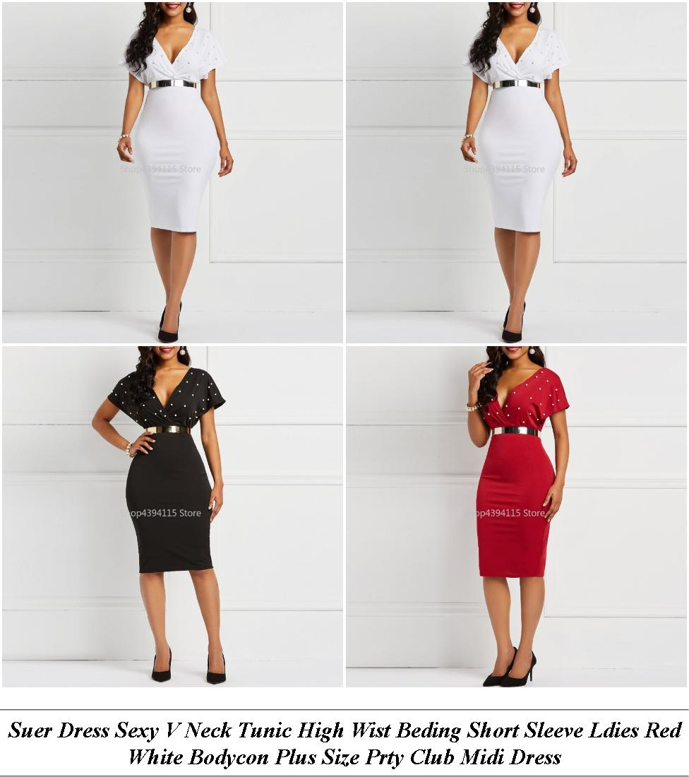 Plus Size Formal Dresses - Next Clearance Sale - Mini Dress - Cheap Summer Clothes