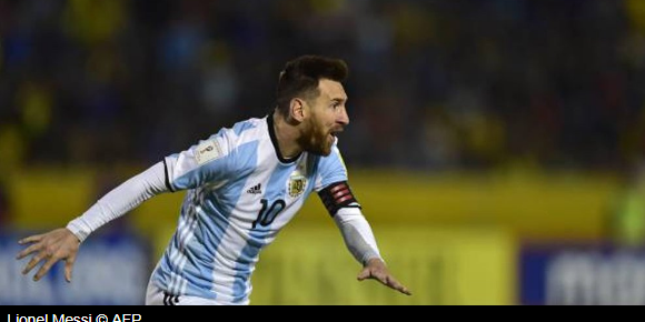 Messi: Hope Football Redeems It Debts to Me