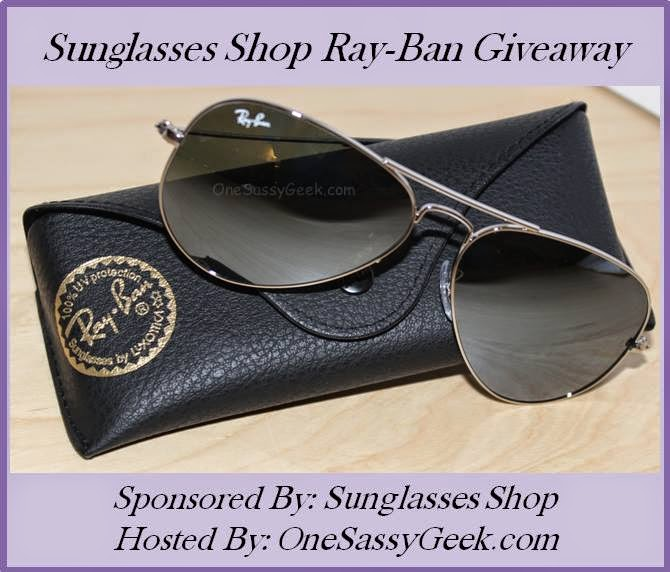 Enter the Sunglasses Shop Ray-Ban Giveaway. Ends 5/7.