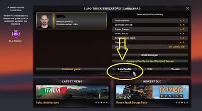 Membuat Profil Baru ETS2
