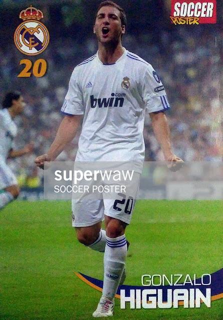 Gonzalo Higuain Real Madrid 2010