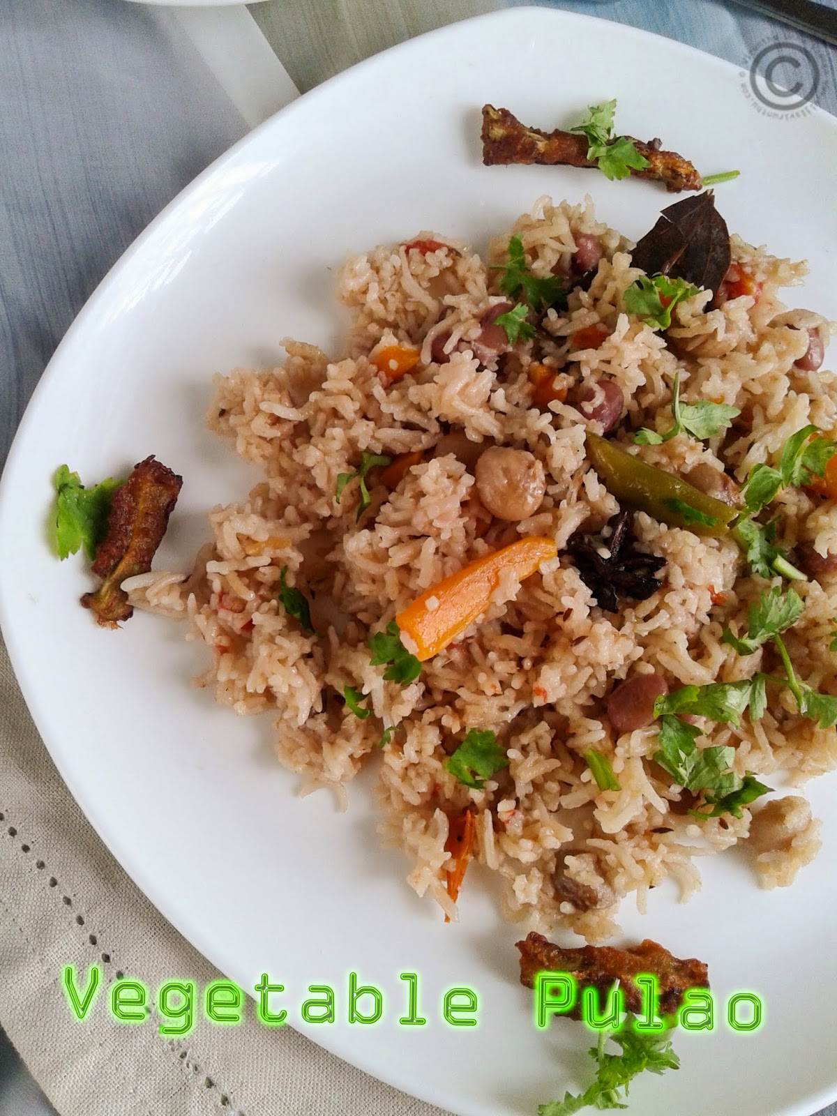 Indian-spice-pulao