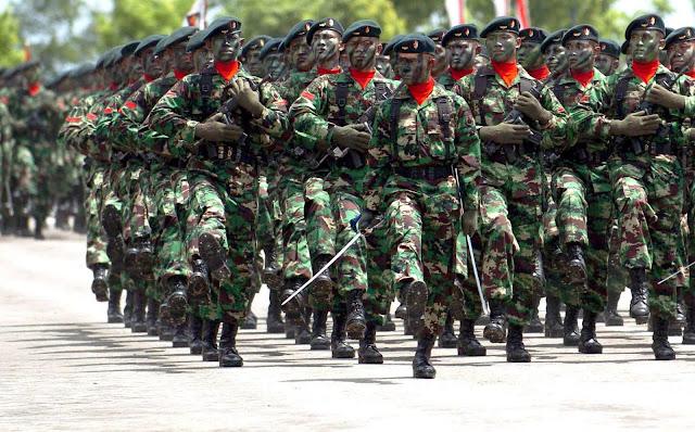 """TNI menjadi garda terdepan pertahanan """"fisik"""" Indonesia (rri.co.id)"""
