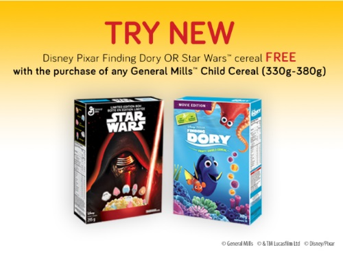 General Mills BOGO Child Cereals Coupon