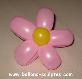 fleur en ballons