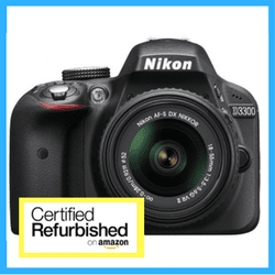 Nikon D3300 Refurbished