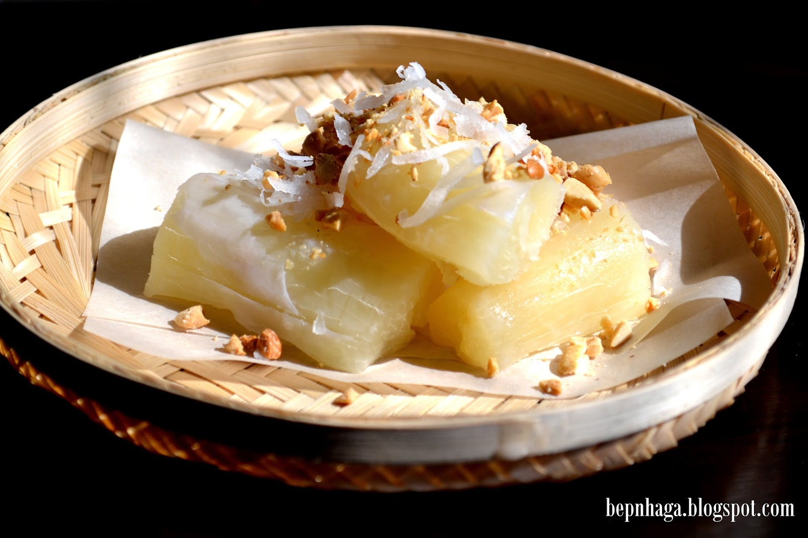 cách nấu khoai mì nước cốt dừa (01)